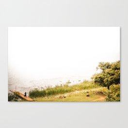 Myanmar – Life on the Lake Canvas Print