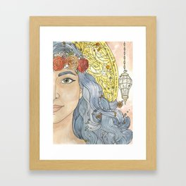 Lady Wisdom (Sophia) Framed Art Print