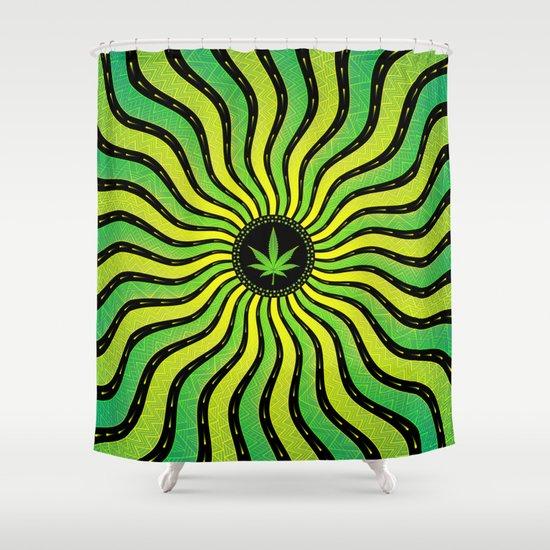 Marijuana energy | Sacred geometry mandala by alextonahang