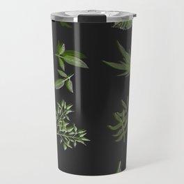 plants on black Travel Mug