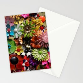 Paper Flower Meadow Stationery Cards
