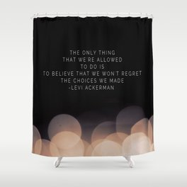 Levi Ackerman Shower Curtain