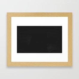Blank Blackboard Framed Art Print