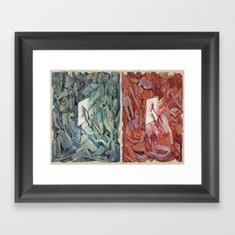 The Flipside Framed Art Print