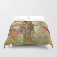 lily Duvet Covers featuring Lily by Aimee Stewart