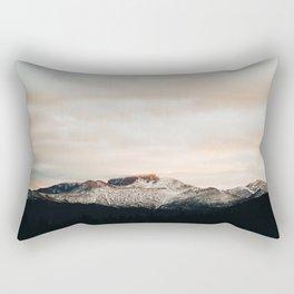 Sunset on Trail Ridge Rectangular Pillow