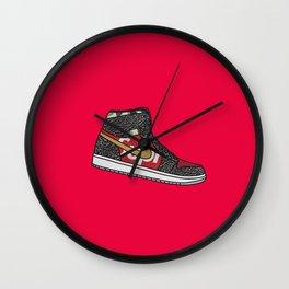 supreme air jordan Wall Clock