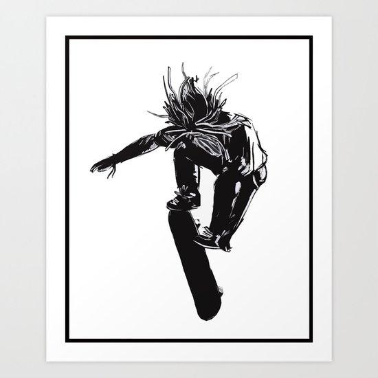 Flip Art Print