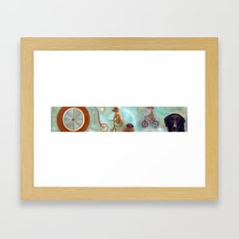 Dogland Framed Art Print