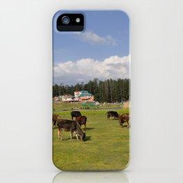 mini switzerland in india iPhone Case