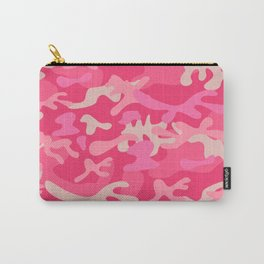 Girly Pink Camouflage Urban Explorer Camo Pattern Carry-All Pouch