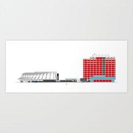 Aula Magna UCV Art Print