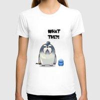 yeti T-shirts featuring Yeti by Mr Meowmer
