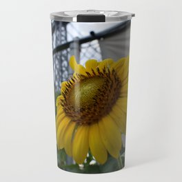 Flowers under the Bridge Travel Mug