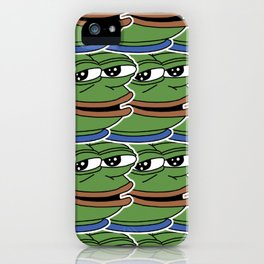 Pepe the Frog, Tiled iPhone Case