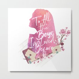 lara jean - to all the boy's i've loved before Metal Print