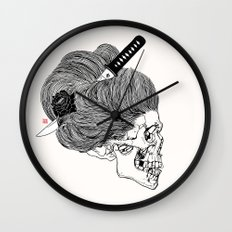 A Lady From Japan Wall Clock