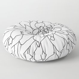 Dahlia 3 Floor Pillow