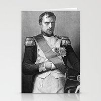 napoleon Stationery Cards featuring Napoleon by Palazzo Art Gallery
