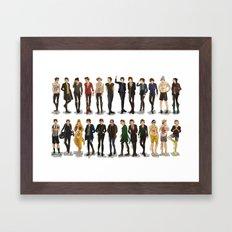 Styles' style Framed Art Print
