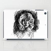 salt water iPad Cases featuring Salt by Kate Plourde