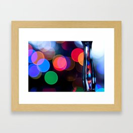 Not the polka type Framed Art Print