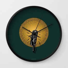 One, two, three... Wall Clock