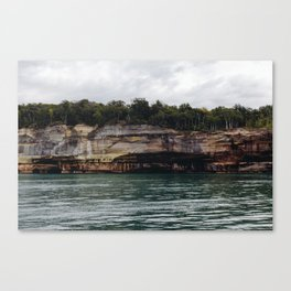Pictured Rocks I Canvas Print