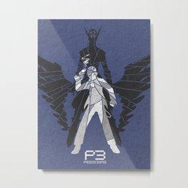 Persona 3 Poster - Junpei Iori Metal Print