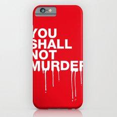 The Sixth Commandment Slim Case iPhone 6s