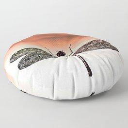 DRAGONFLY I-A Floor Pillow