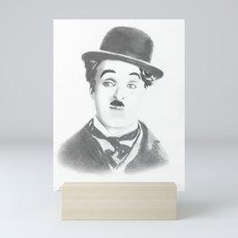Chaplin Mini Art Print