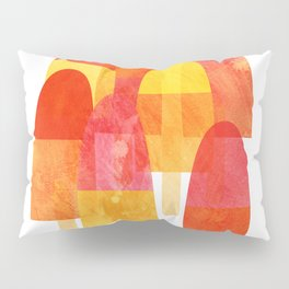 Ice Lollies and Popsicles Pillow Sham