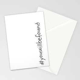#youwillbefound Stationery Cards