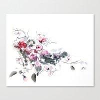 china Canvas Prints featuring China by tatiana-teni