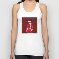 dentist Tank Tops featuring No184 My Django Unchained minimal movie poster by Chungkong