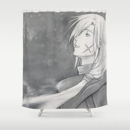 Gremio's Death - Suikoden - Tenei Star [ Only for real NERD ] Shower Curtain