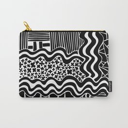 Lines & triangles Carry-All Pouch