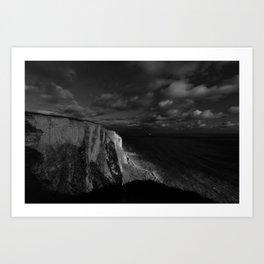 White Luminance Art Print