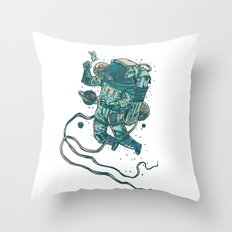 Peace In Space  Throw Pillow