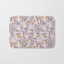 Pretty Bunny Rabbits Bath Mat