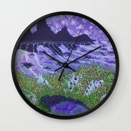 Meeting of the Minds Wall Clock