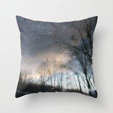 Underworld Wave Throw Pillow