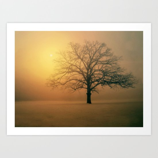 Winter Aubade Art Print