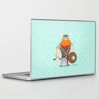 viking Laptop & iPad Skins featuring Viking by valriquelme