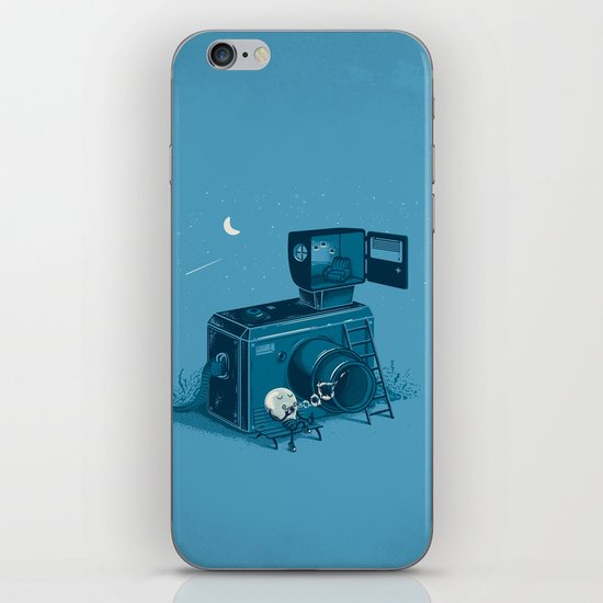 Quitting Time iPhone & iPod Skin