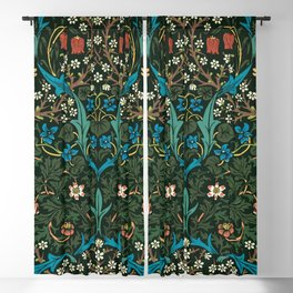 Blackthorn by William Morris, 1892 Blackout Curtain