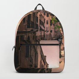 Canal of Venice Backpack
