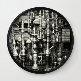 Shisha Collection Wall Clock
