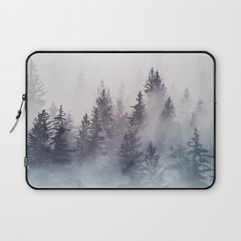 Winter Wonderland - Stormy weather Laptop Sleeve